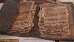 Hallan posible primer borrador del Nuevo Testamento de la Biblia