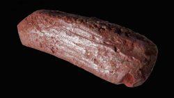 Hallan un crayón de 10.000 años de antigüedad en un lago de la Edad de Piedra