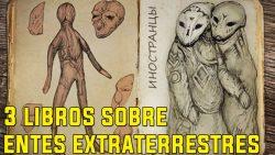 Los tres libros más extraños sobre entidades extraterrestre