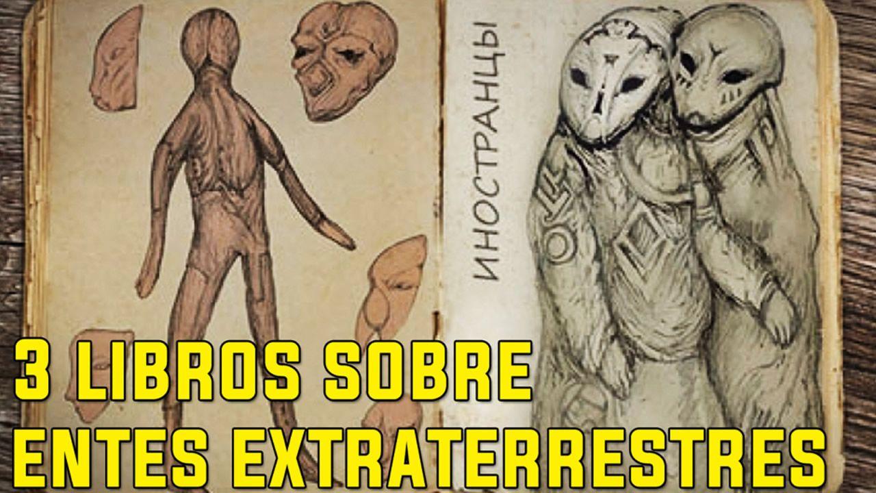 Los tres libros más extraños sobre entidades extraterrestres