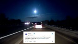 Cae meteorito cerca a Detroit (EE.UU.) y provoca sismo de magnitud 2, según el USGS