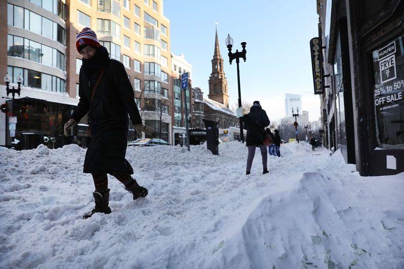 Una intensa ola de frío azota diversas localidades de EE.UU..