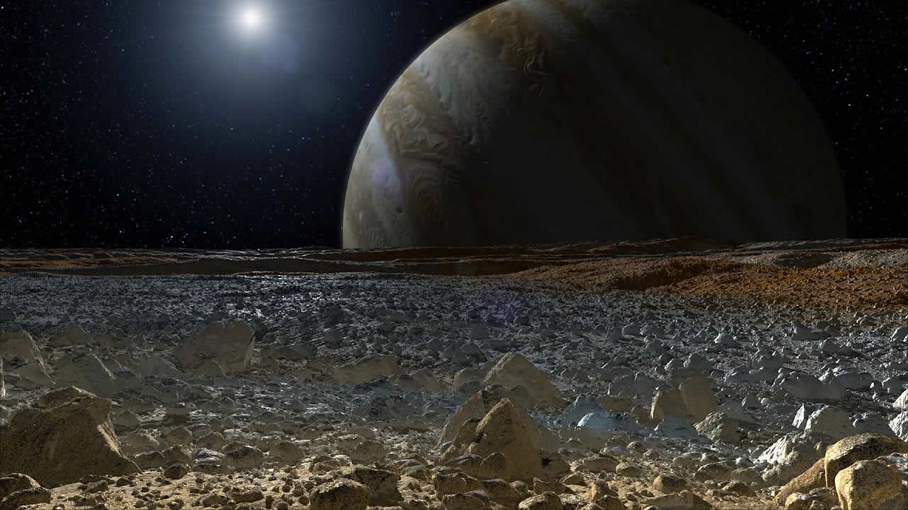 Primer aterrizaje en luna Europa podría hundirse en «arenas movedizas»