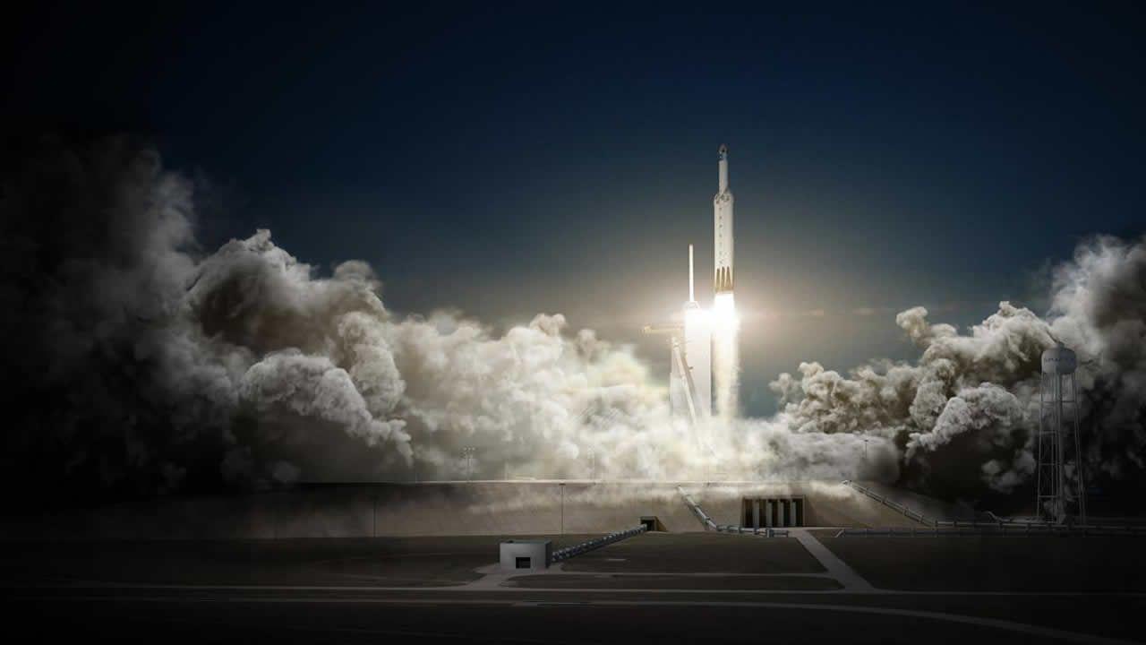 SpaceX pone fecha de lanzamiento de su cohete Falcon Heavy