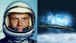 Testimonio de un astronauta cuando decenas de OVNIs rodean su cápsula en el espacio
