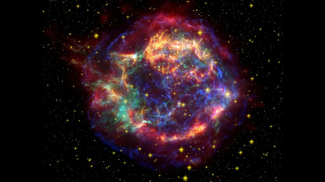 ¿Una supernova registrada en antiguo arte rupestre de la India?