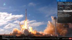 Así fue el lanzamiento del Falcon Heavy de SpaceX