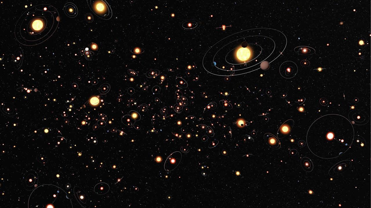 Astrónomos descubren 95 exoplanetas correspondientes a la misión K2