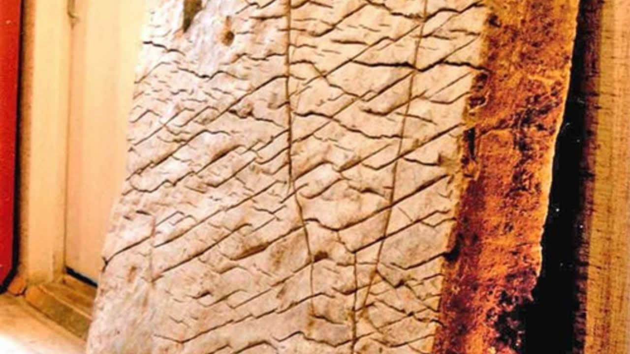 ¿Es la piedra Dashka un mapa de 120 millones de años?