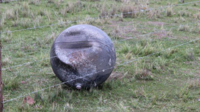El objeto permanece cercado por orden de las autoridades