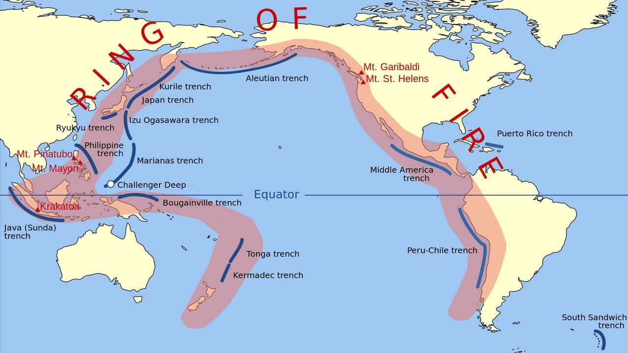 Expertos temen un pronto terremoto masivo, ante alta actividad del Anillo de Fuego del Pacífico