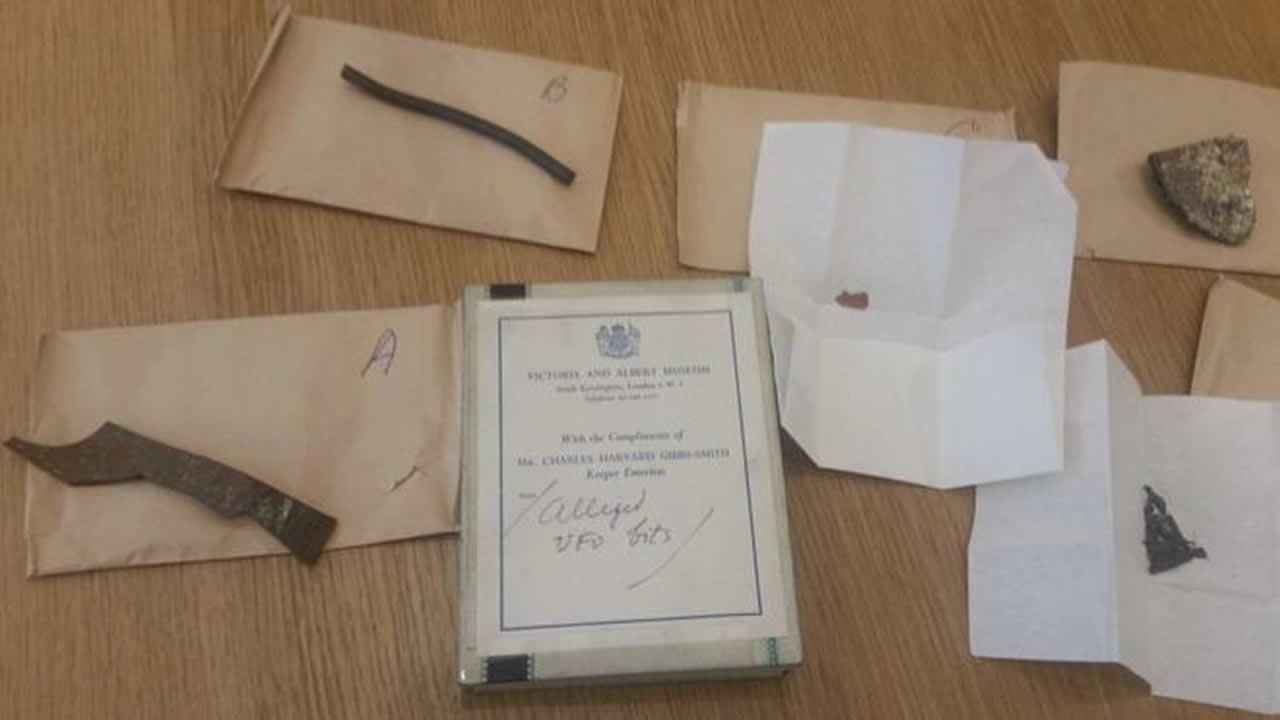 Hallan fragmentos de OVNI del caso «Roswell del Reino Unido» en archivo de Museo de Ciencias