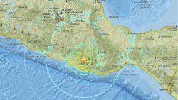 Fuerte terremoto de escala 7.2 sacude zonas centro y sur de México