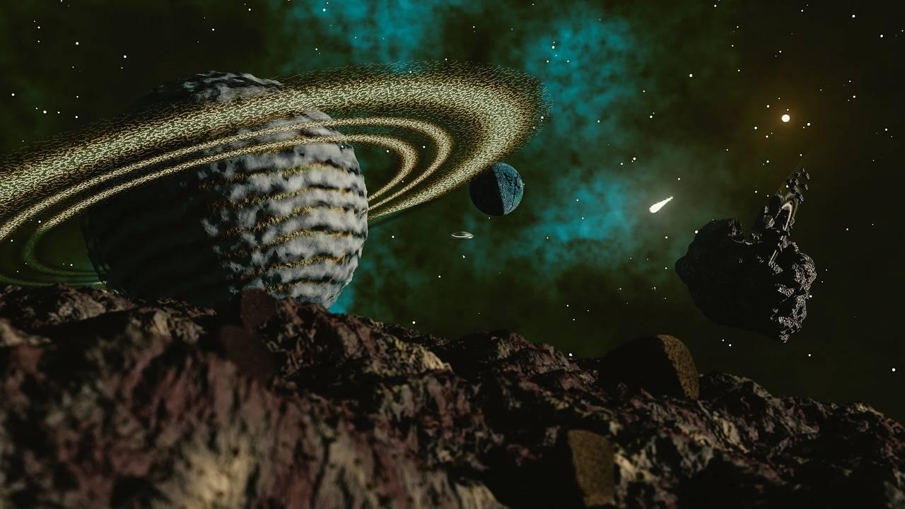 ¿La vida llegó a la Tierra transportada en un asteroide?