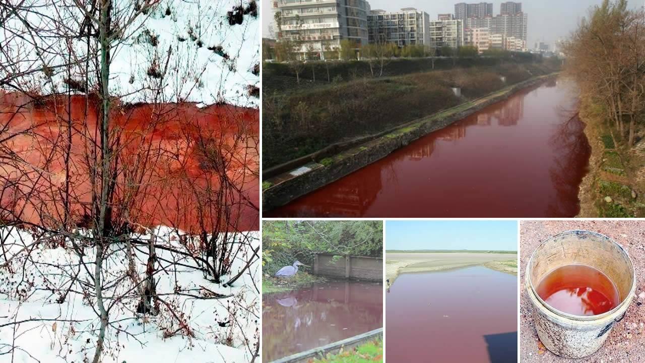 Muchos ríos de todo el mundo se vuelven rojos, ante la sorpresa de los eruditos bíblicos
