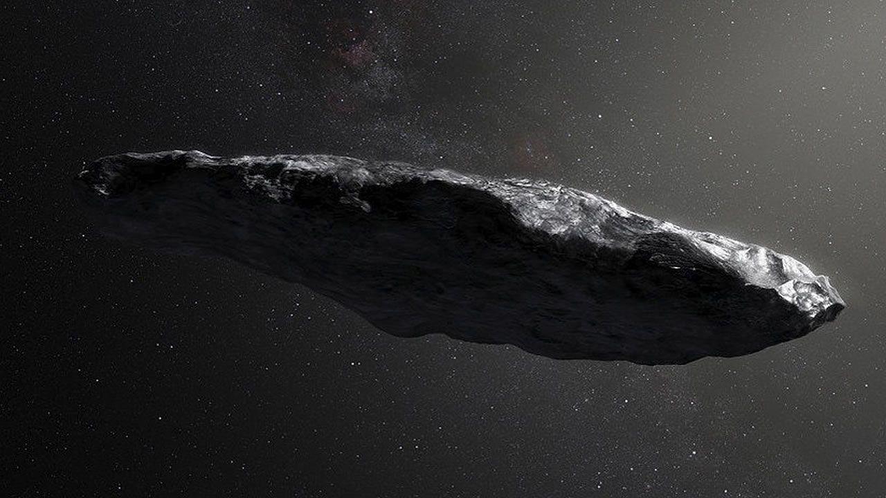 Oumuamua, el objeto espacial con forma de cigarro habría impactado violentamente con otro objeto
