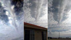 Reportan una «rasgadura en las nubes» y un extraño ruido en Nevada, EE.UU.