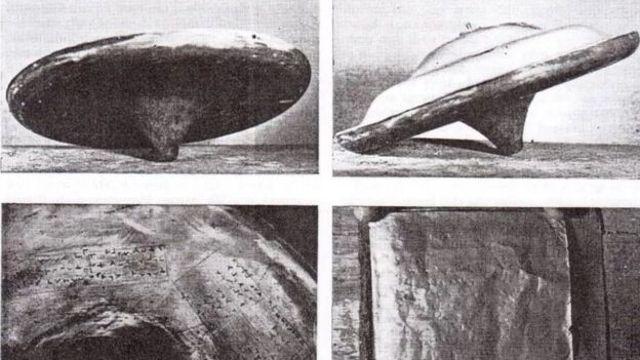 Imagen del «Silpho Saucer» tomadas por el Dr. John Dale en 1958