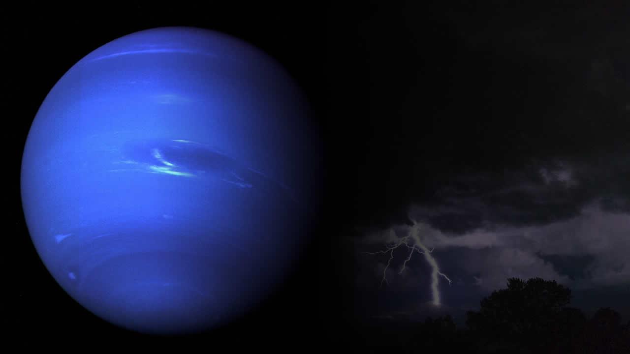Telescopio Hubble observa misteriosa tormenta oscura en Neptuno