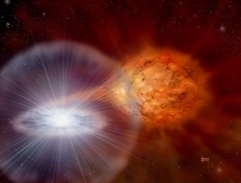La estrella descubierta se trata de la primera estrella supergigante amarilla jamás descubierta, y solo la segunda estrella fugaz evolucionada que se encuentra en otra galaxia