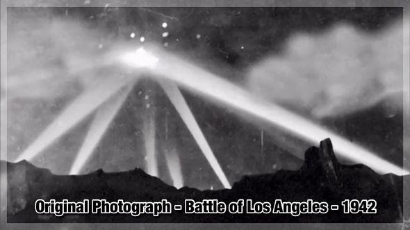 Fotografía original en la que se basa el libro UFO PHOTO