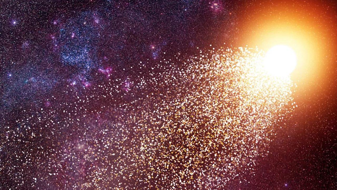 Científicos hallan una estrella fugitiva a gran velocidad en otra galaxia