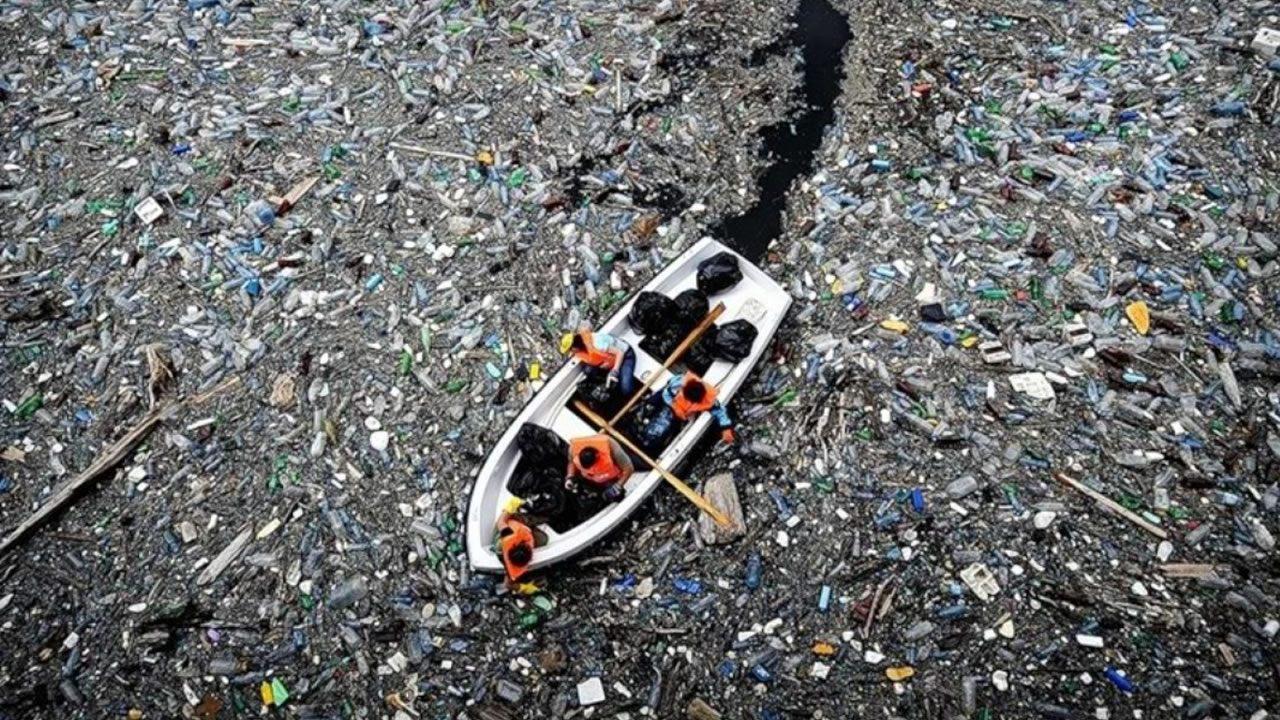 Existe una Isla de basura de 79.000 toneladas en el Pacífico