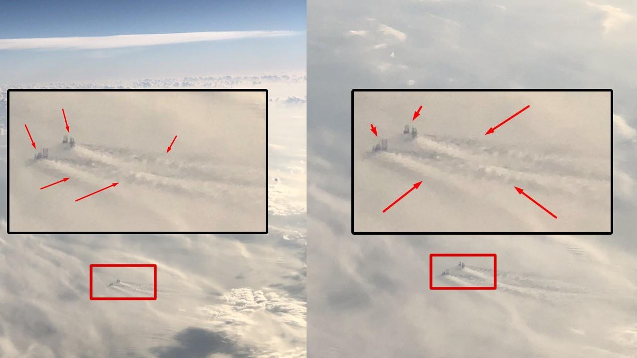 ¿Gigantescas estructuras en las nubes a 12 kilómetros de altura?