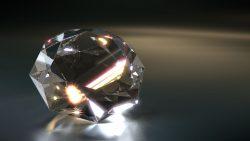 Hallan por primera vez un mineral de tierra profunda dentro de un diamante