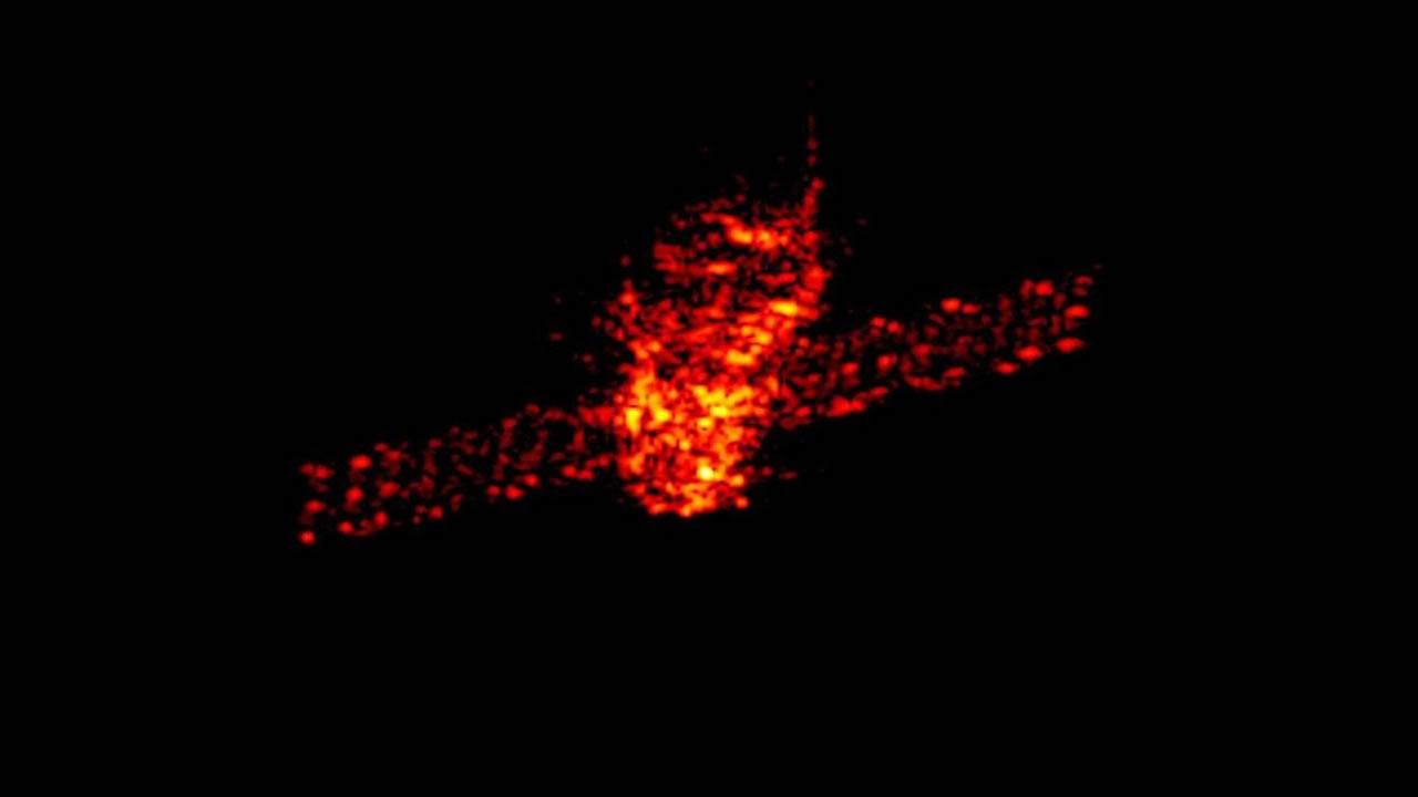 Tiangong-1: Imagen de radar muestra la estación espacial que impactará nuestro planeta