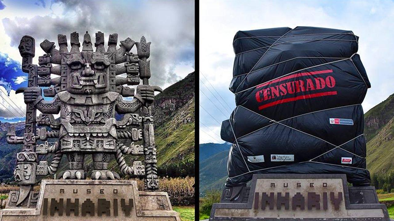 Ministerio de Cultura de Perú exige retiro de monumento a Viracocha en Cusco