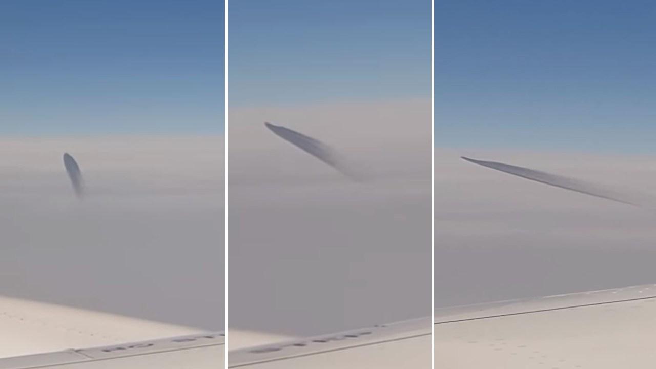 Un OVNI vuela cerca de un avión comercial en Turquía (Vídeo)