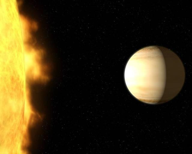 Un exoplaneta a 700 años luz de la Tierra tiene mucha más agua en su atmósfera de lo que los astrónomos esperaban encontrar
