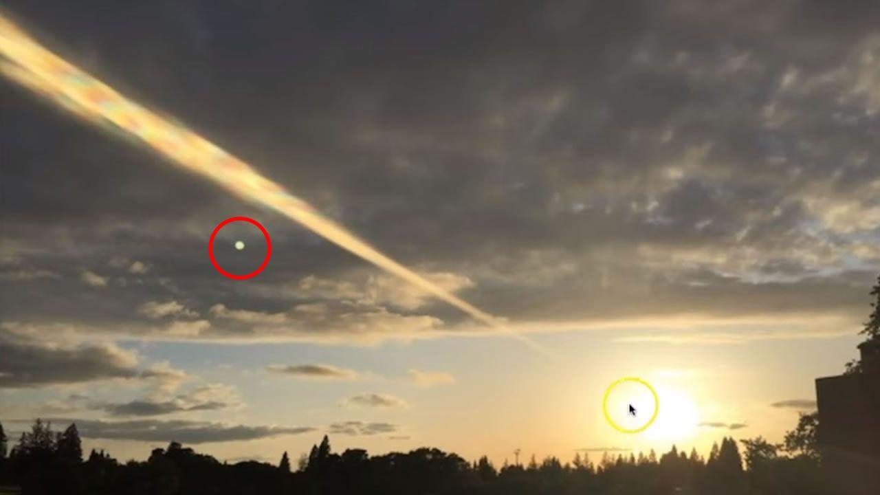 Capturan misterioso rayo de luz «disparado» desde el Sol