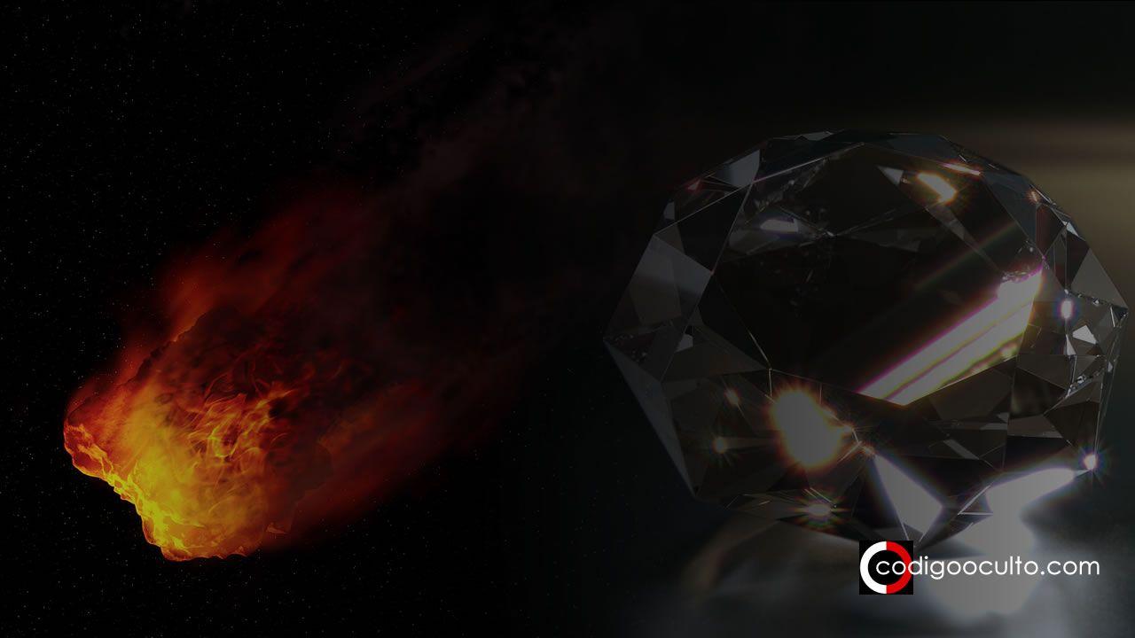 Descubren diamantes extraterrestres provenientes de un antiguo planeta