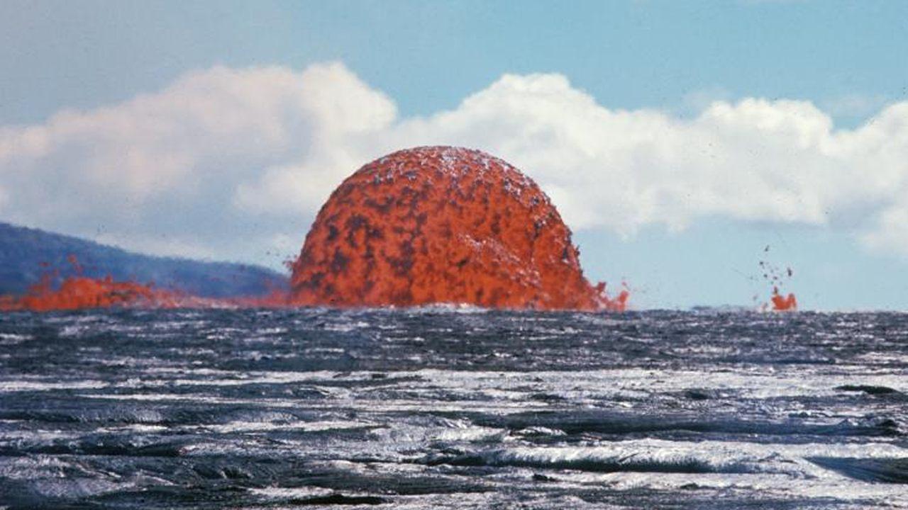 Este volcán tuvo una erupción que duró 5 años