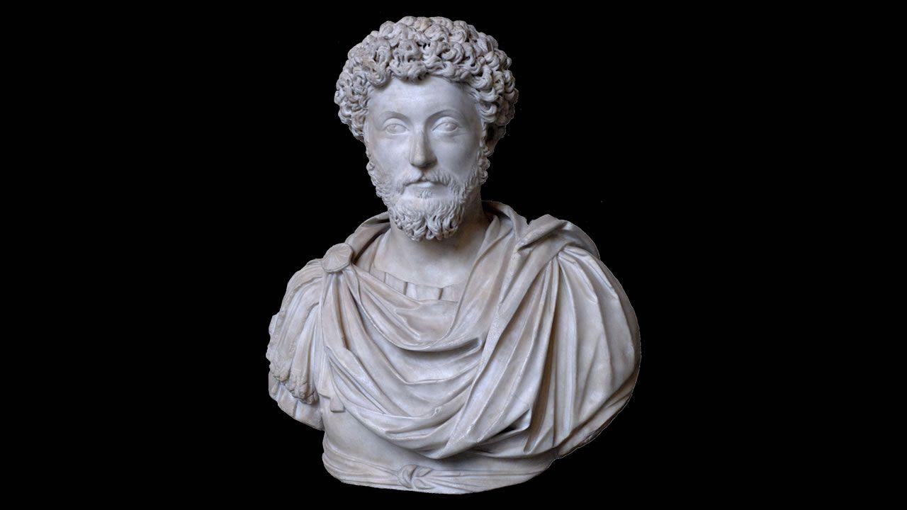 Hallan busto de Emperador romano Marco Aurelio en Egipto