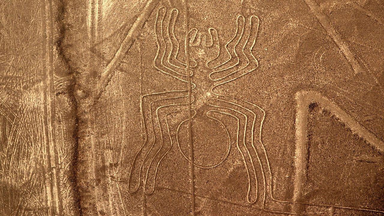 Hallan nuevas líneas de Nasca escondidas en el desierto por miles de años