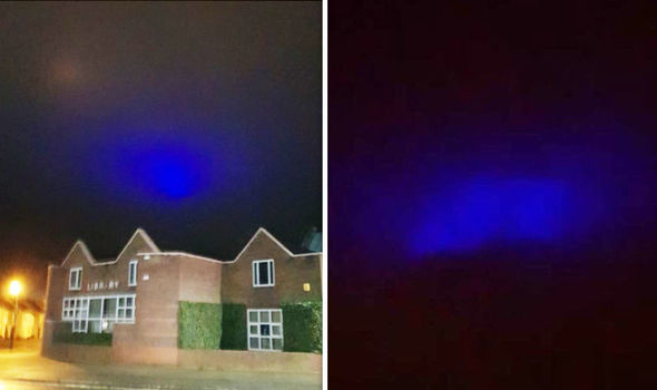Las inusuales luces OVNI fueron descubiertas en Buckinghamshire y Oxfordshire