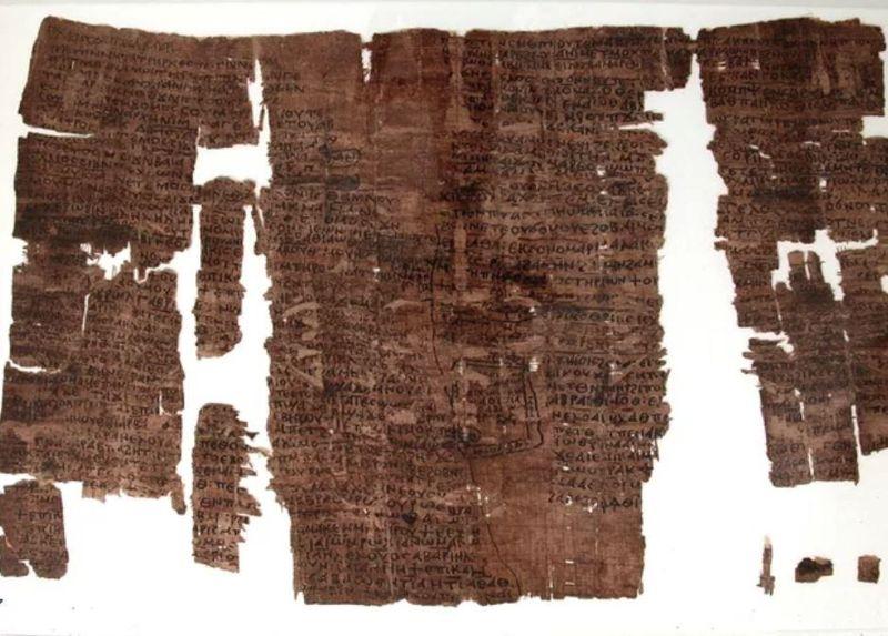 Este papiro de 1500 años de antigüedad contiene varias historias bíblicas
