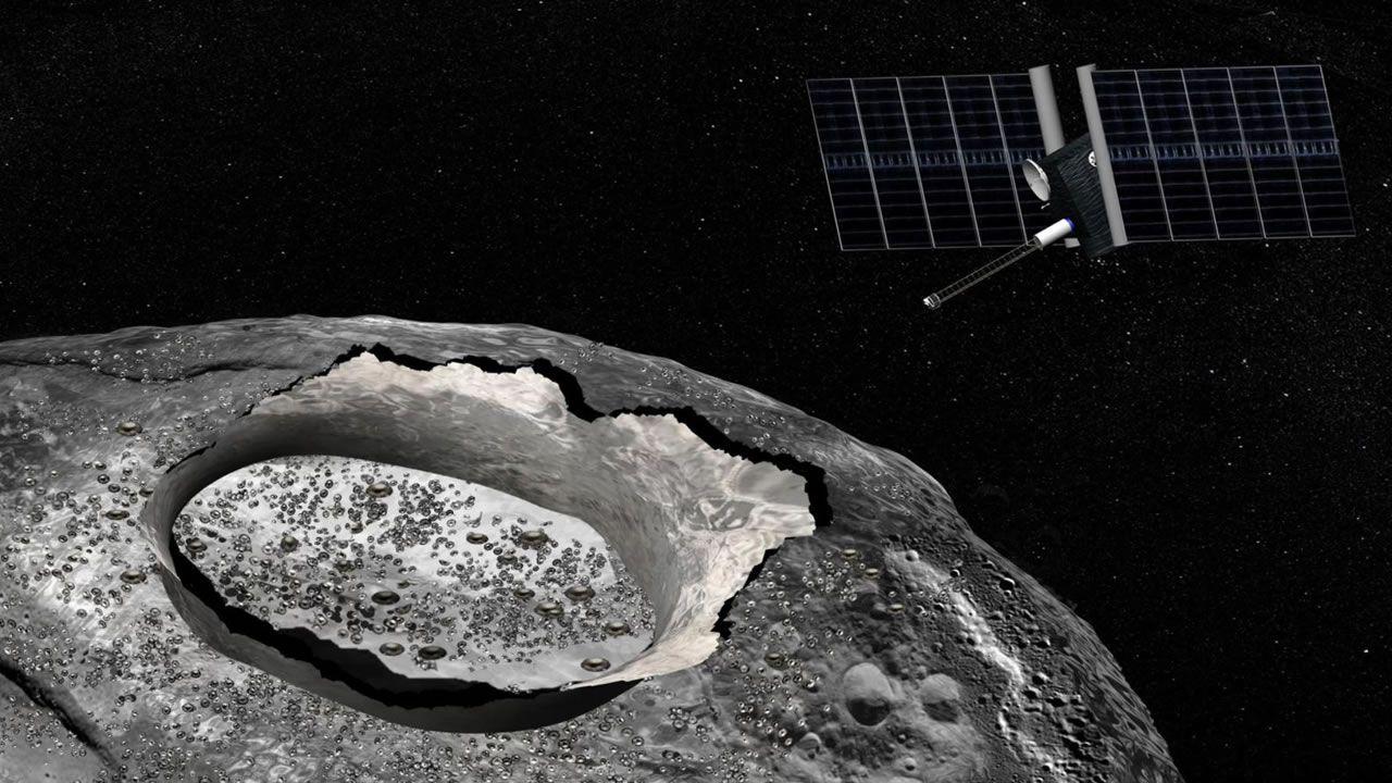 ¿Por qué NASA enviará una nave espacial a un asteroide metálico?