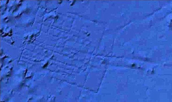 Este es el lugar hallado en Google Maps, ¿podría tratarse de la mítica ciudad de la Atlántida?