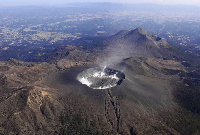Volcán Shinmoedake