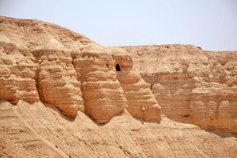 Qumrán es un valle del desierto de Judea en las costas occidentales del mar Muerto
