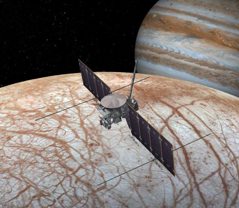 NASA planea enviar una nave espacial para orbitar Europa en algún momento de la década de 2020
