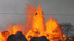 «Bomba de lava» destroza pierna de residente en Hawaii