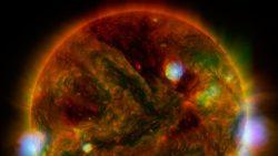 Detectan ondas gigantescas en el Sol que controlan el clima de la Tierra