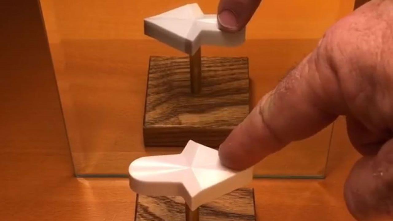 Esta ilusión óptica 3D hará que veas la realidad de otra forma