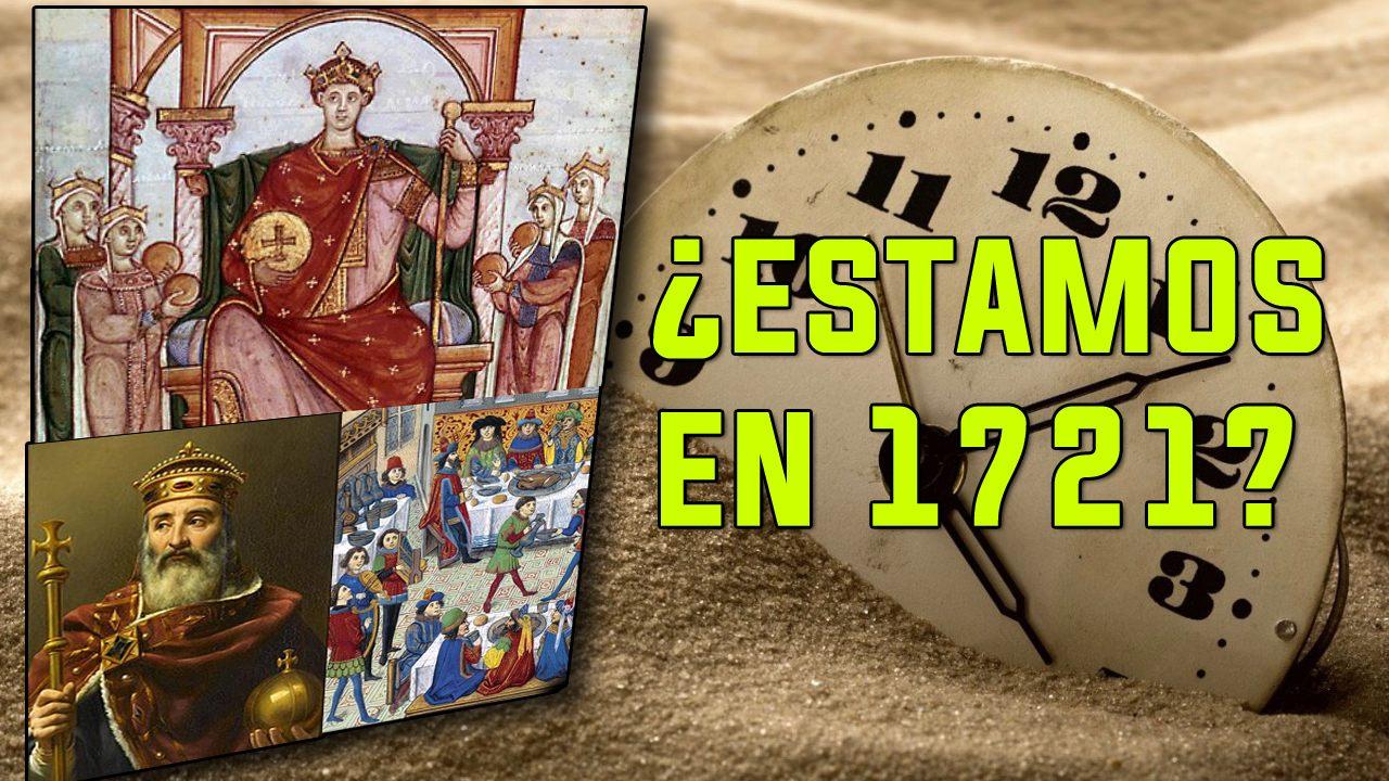 ¿Estamos en el año 1721 y no en 2018? La teoría del Tiempo fantasma