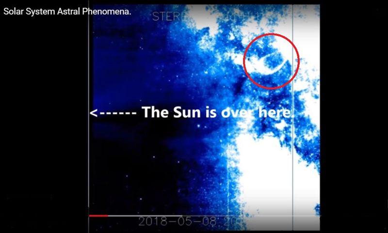 La gran explosión en nuestro Sistema Solary envía una enorme onda de choque hacia el Sol y la Tierra